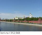 Купить «Кремлёвская стена. Москва», фото № 312568, снято 6 июня 2008 г. (c) Колчева Ольга / Фотобанк Лори