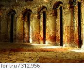 Купить «Старинные колонны храма. Новый Иерусалим.», фото № 312956, снято 13 февраля 2005 г. (c) Sergey Toronto / Фотобанк Лори