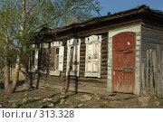 Купить «Домик в деревне», фото № 313328, снято 19 мая 2008 г. (c) Талдыкин Юрий / Фотобанк Лори