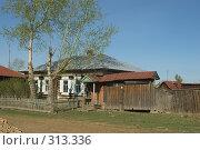 Купить «Домик в деревне», фото № 313336, снято 19 мая 2008 г. (c) Талдыкин Юрий / Фотобанк Лори