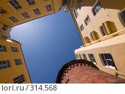 Купить «Двор-колодец. Санкт-Петербург», эксклюзивное фото № 314568, снято 7 июня 2008 г. (c) Александр Алексеев / Фотобанк Лори