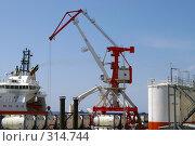 Купить «База снабжения нефтяного проекта «Сахалин»», фото № 314744, снято 4 июня 2008 г. (c) RedTC / Фотобанк Лори