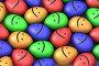 Много разноцветных улыбающихся пасхальных яиц, иллюстрация № 316144 (c) Максим Бондарчук / Фотобанк Лори