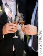 Купить «Свадебный тост», фото № 316792, снято 6 июня 2008 г. (c) Морозова Татьяна / Фотобанк Лори