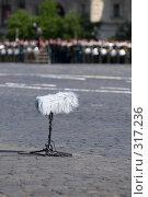 Купить «В ожидании парада победы на Красной Площади, 9 мая 2008 года. Москва, Россия», фото № 317236, снято 9 мая 2008 г. (c) Алексей Зарубин / Фотобанк Лори