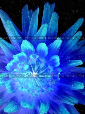 Купить «Голубой цветок», фото № 317364, снято 22 апреля 2018 г. (c) ElenArt / Фотобанк Лори