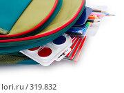 Купить «Школьный рюкзак», фото № 319832, снято 27 августа 2007 г. (c) podfoto / Фотобанк Лори