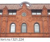Купить «Фасад старинного здания», фото № 321224, снято 4 июня 2008 г. (c) Ольга Смоленкова / Фотобанк Лори