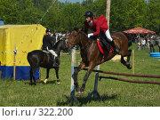 Купить «Конкур», фото № 322200, снято 12 июня 2008 г. (c) Талдыкин Юрий / Фотобанк Лори
