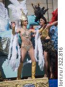 Купить «Карнавал 2008. Девушка в карнавальном костюме», эксклюзивное фото № 322816, снято 24 мая 2008 г. (c) Александр Щепин / Фотобанк Лори