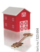 Купить «Красный дом и ключ от дома», фото № 323604, снято 16 ноября 2007 г. (c) Останина Екатерина / Фотобанк Лори