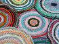 Фон из  цветных ковриков, фото № 327408, снято 14 мая 2006 г. (c) Ирина Солошенко / Фотобанк Лори