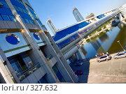 Купить «Пешеходный мост», фото № 327632, снято 12 июля 2007 г. (c) Михаил Лукьянов / Фотобанк Лори