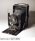 Старый фотоаппарат. Стоковое фото, фотограф Александр Михалёв / Фотобанк Лори