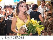 Купить «Выпускной вечер. Школа. Выпускники.», фото № 329592, снято 20 июня 2008 г. (c) Федор Королевский / Фотобанк Лори