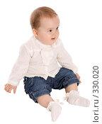Купить «Маленькая девочка», фото № 330020, снято 9 мая 2008 г. (c) Вадим Пономаренко / Фотобанк Лори