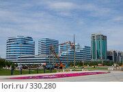 Купить «Новые административные здания. Левобережье. Астана.», фото № 330280, снято 15 июня 2008 г. (c) Михаил Николаев / Фотобанк Лори