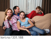 Купить «Семья», фото № 331188, снято 26 января 2008 г. (c) Морозова Татьяна / Фотобанк Лори