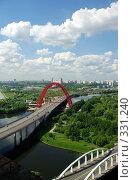 Купить «Два моста, старик и молодой», фото № 331240, снято 20 июня 2008 г. (c) Дмитрий Тарасов / Фотобанк Лори