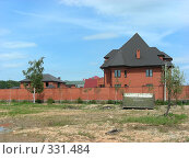 Купить «Квартал Абрамцево, Балашиха, Московская область», эксклюзивное фото № 331484, снято 9 июня 2008 г. (c) lana1501 / Фотобанк Лори