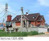 Купить «Квартал Абрамцево, Балашиха, Московская область», эксклюзивное фото № 331496, снято 9 июня 2008 г. (c) lana1501 / Фотобанк Лори