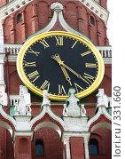 Купить «Часы на Кремлевской башне. Москва», фото № 331660, снято 9 июня 2008 г. (c) Юлия Селезнева / Фотобанк Лори