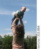 Купить «А так я учусь летать», фото № 333884, снято 15 июня 2008 г. (c) ИВА Афонская / Фотобанк Лори