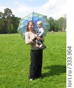 Купить «Мадонна с зонтиком», фото № 333904, снято 15 июня 2008 г. (c) ИВА Афонская / Фотобанк Лори