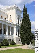 Купить «Ливадийский дворец, Ялта», эксклюзивное фото № 333924, снято 21 апреля 2008 г. (c) Дмитрий Неумоин / Фотобанк Лори