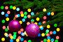 Новогодние шары на елке, фото № 334752, снято 21 октября 2007 г. (c) podfoto / Фотобанк Лори