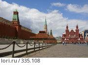 Купить «Москва. Красная площадь», фото № 335108, снято 25 июня 2008 г. (c) Julia Nelson / Фотобанк Лори