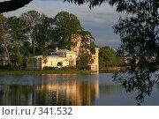 Купить «Петродворец, вид на Ольгин павильон», фото № 341532, снято 12 июня 2008 г. (c) Александр Секретарев / Фотобанк Лори