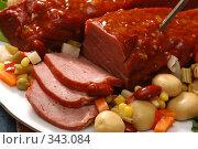 Купить «Мясо. Meat», фото № 343084, снято 21 октября 2004 г. (c) Лямзин Дмитрий / Фотобанк Лори