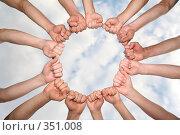 Купить «Духовная связь», фото № 351008, снято 7 июля 2020 г. (c) Losevsky Pavel / Фотобанк Лори