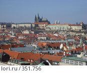 Вид на Прагу с холма Петршин (2006 год). Стоковое фото, фотограф Андрей Толстик / Фотобанк Лори