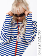 Купить «Морячка», фото № 352700, снято 4 июля 2008 г. (c) Михаил Мандрыгин / Фотобанк Лори