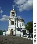 Покровская церковь. Стоковое фото, фотограф Панов Андрей / Фотобанк Лори