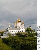 Купить «Спасо-Преображенский собор. Тольятти», фото № 353592, снято 13 июня 2008 г. (c) Liseykina / Фотобанк Лори