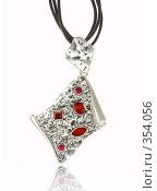 Купить «Красивое ожерелье», фото № 354056, снято 2 января 2008 г. (c) Андрей Армягов / Фотобанк Лори