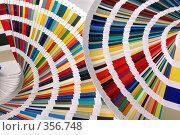 Купить «Карты выбора цвета», фото № 356748, снято 16 августа 2018 г. (c) Олег / Фотобанк Лори