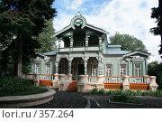 Купить «Старинный деревянный дом 19-го века. Пенза», фото № 357264, снято 12 июля 2008 г. (c) Марюнин Юрий / Фотобанк Лори