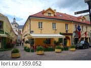 Старый город, Вильнюс (2008 год). Редакционное фото, фотограф Aneta Vaitkiene / Фотобанк Лори