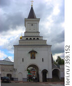 Купить «Николо-Угрешский монастырь. Город Дзержинский.», эксклюзивное фото № 359152, снято 1 июня 2008 г. (c) lana1501 / Фотобанк Лори
