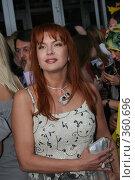 Купить «Знаменитости. Вера Сотникова», фото № 360696, снято 19 июня 2008 г. (c) Денис Макаренко / Фотобанк Лори