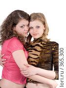 Купить «Две девушки», фото № 365300, снято 17 мая 2008 г. (c) Сергей Сухоруков / Фотобанк Лори