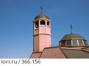 Купить «Церковь на фоне неба», фото № 366156, снято 12 июля 2008 г. (c) Tyurina Ekaterina / Фотобанк Лори