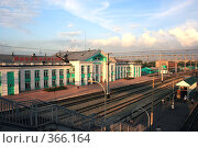 Купить «Новокузнецк,вокзал», фото № 366164, снято 22 июля 2008 г. (c) Zemlyanski Alexei / Фотобанк Лори