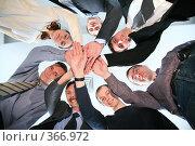 Купить «Дружная команда», фото № 366972, снято 24 января 2019 г. (c) Losevsky Pavel / Фотобанк Лори