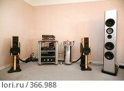 Купить «Стереосистема», фото № 366988, снято 14 апреля 2007 г. (c) Losevsky Pavel / Фотобанк Лори