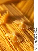 Купить «Макароны», фото № 370020, снято 24 января 2019 г. (c) Кравецкий Геннадий / Фотобанк Лори